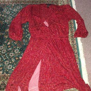 Laundry wrap dress